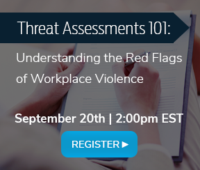 WTS Global Newsletter - Threat Assessments 101 Webinar Banner